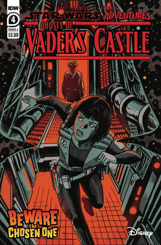 Ghosts of Vader's Castle #4 (Cover A by Francesco Francavilla) (13.10.2021)