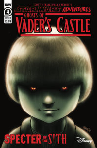 Ghosts of Vader's Castle #4 (Cover B by Derek Charm) (13.10.2021)