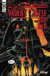 Ghosts of Vader's Castle #5 (Cover A by Francesco Francavilla) (20.10.2021)