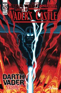 Ghosts of Vader's Castle #5 (Cover B by Derek Charm) (20.10.2021)