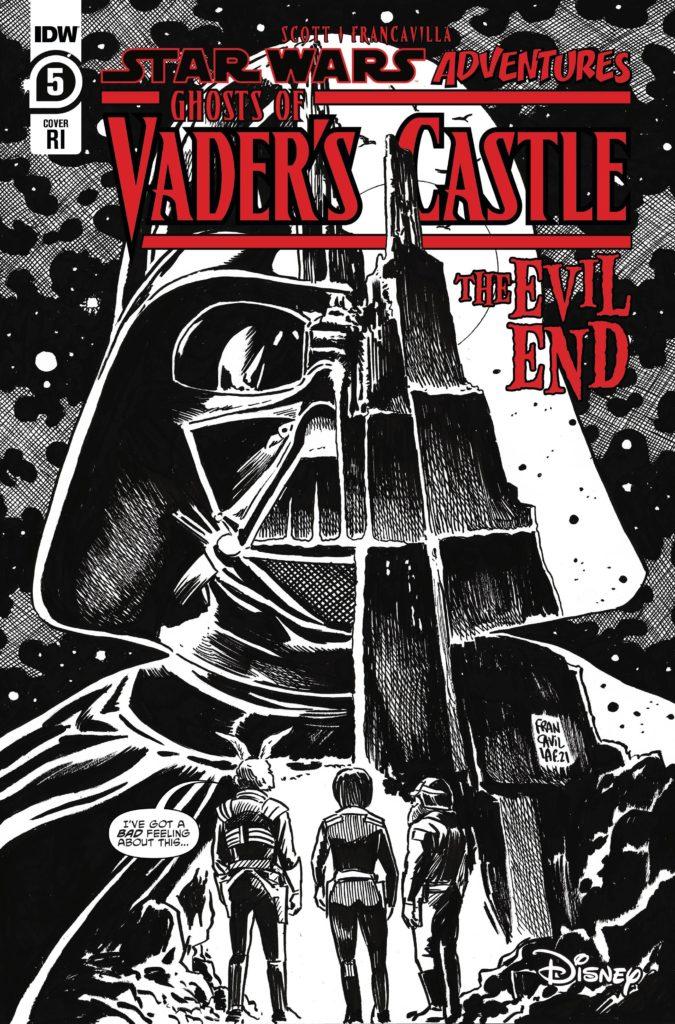 Ghosts of Vader's Castle #5 (Francesco Francavilla Black & White Variant Cover) (20.10.2021)