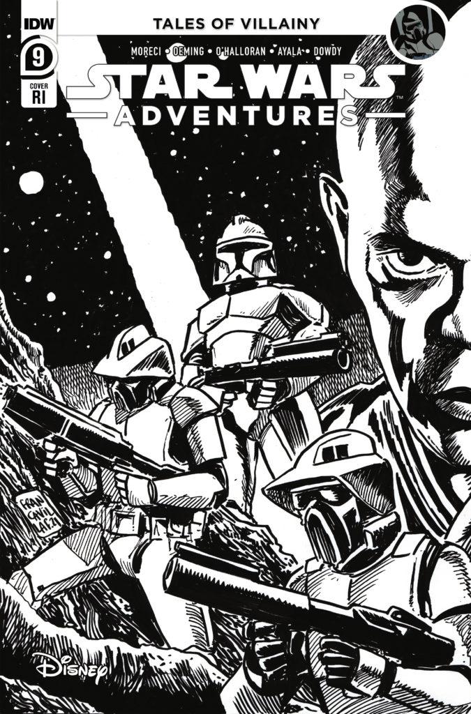 Star Wars Adventures #9 (Francesco Francavilla Black & White Variant Cover) (08.09.2021)