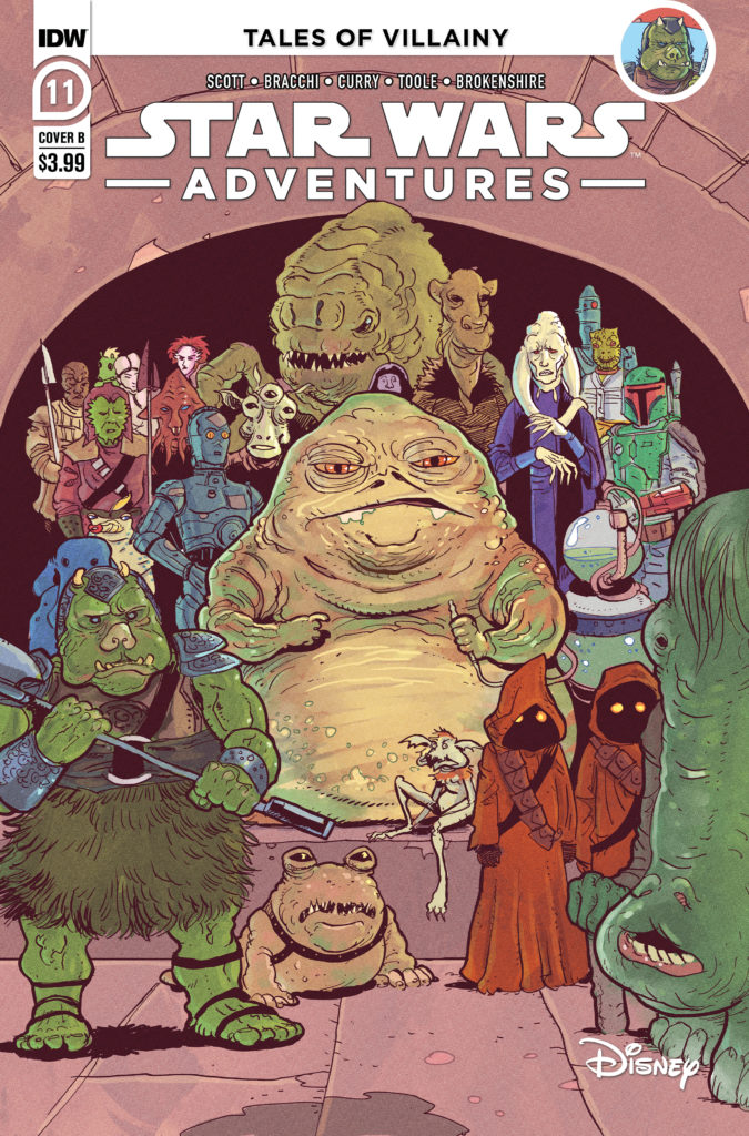 Star Wars Adventures #11 (Cover B by Nick Brokenshire) (20.10.2021)