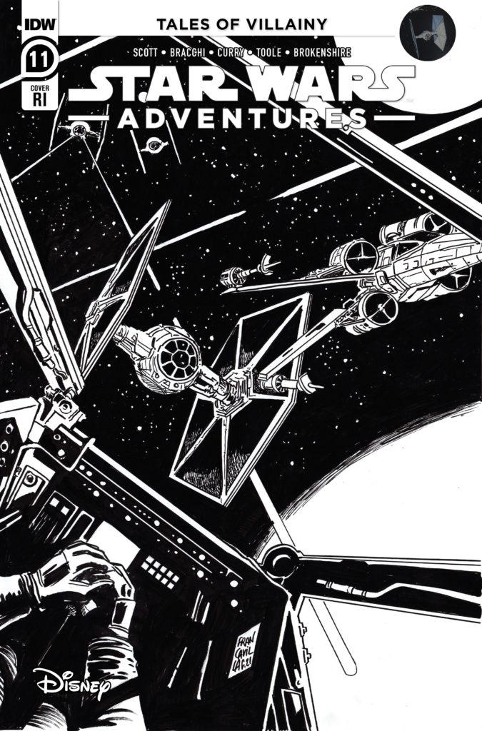 Star Wars Adventures #11 (Francesco Francavilla Black & White Variant Cover) (20.10.2021)