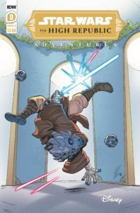 The High Republic Adventures #9 (Megan Levens Variant Cover) (06.10.2021)