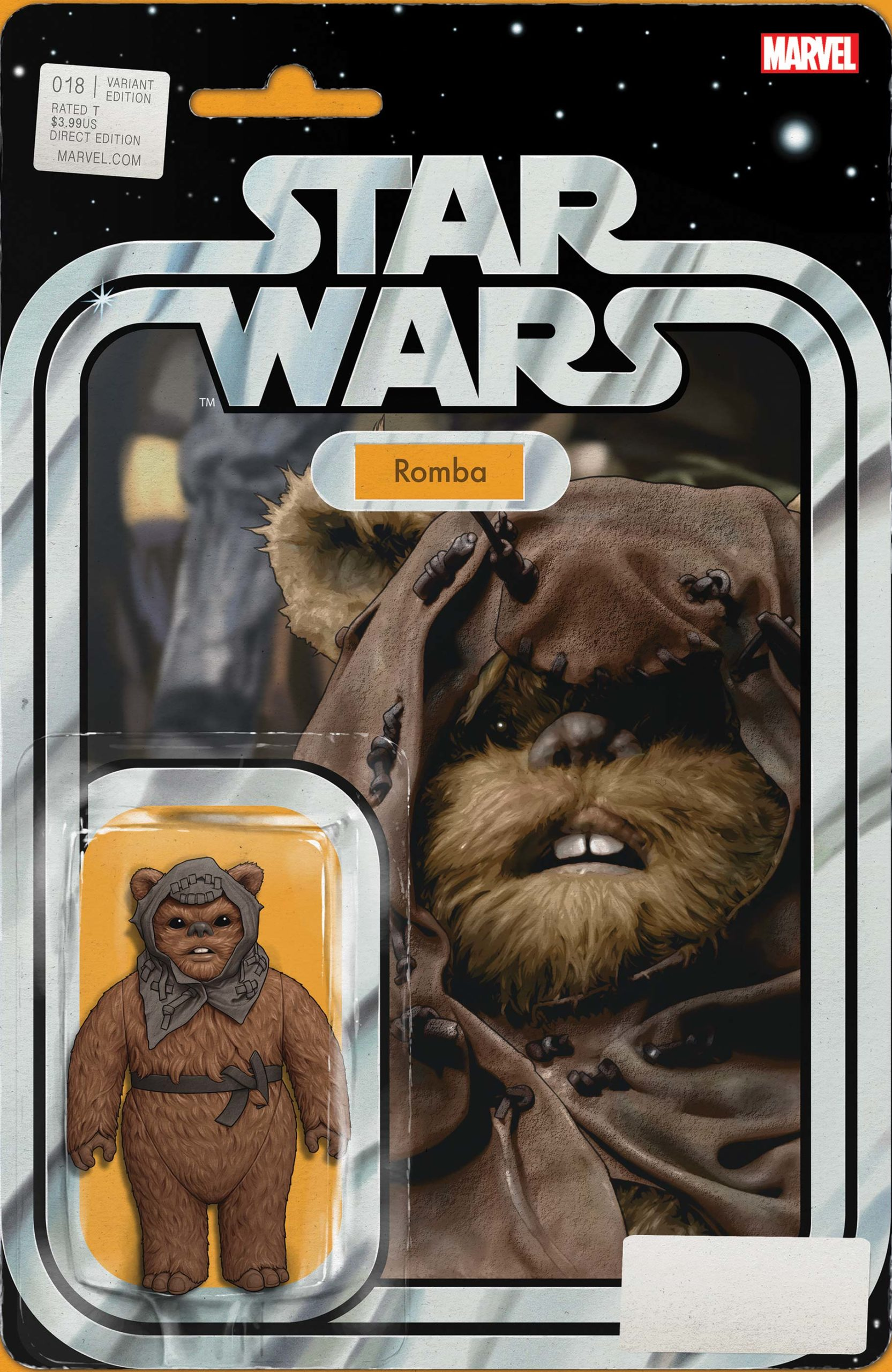 """Star Wars #18 (""""Romba"""" Action Figure Variant Cover) (27.10.2021)"""
