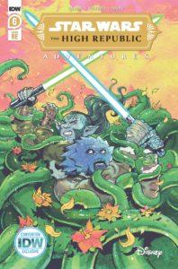 The High Republic Adventures #6 (Harvey Tolibao SDCC Variant Cover) (23.07.2021)