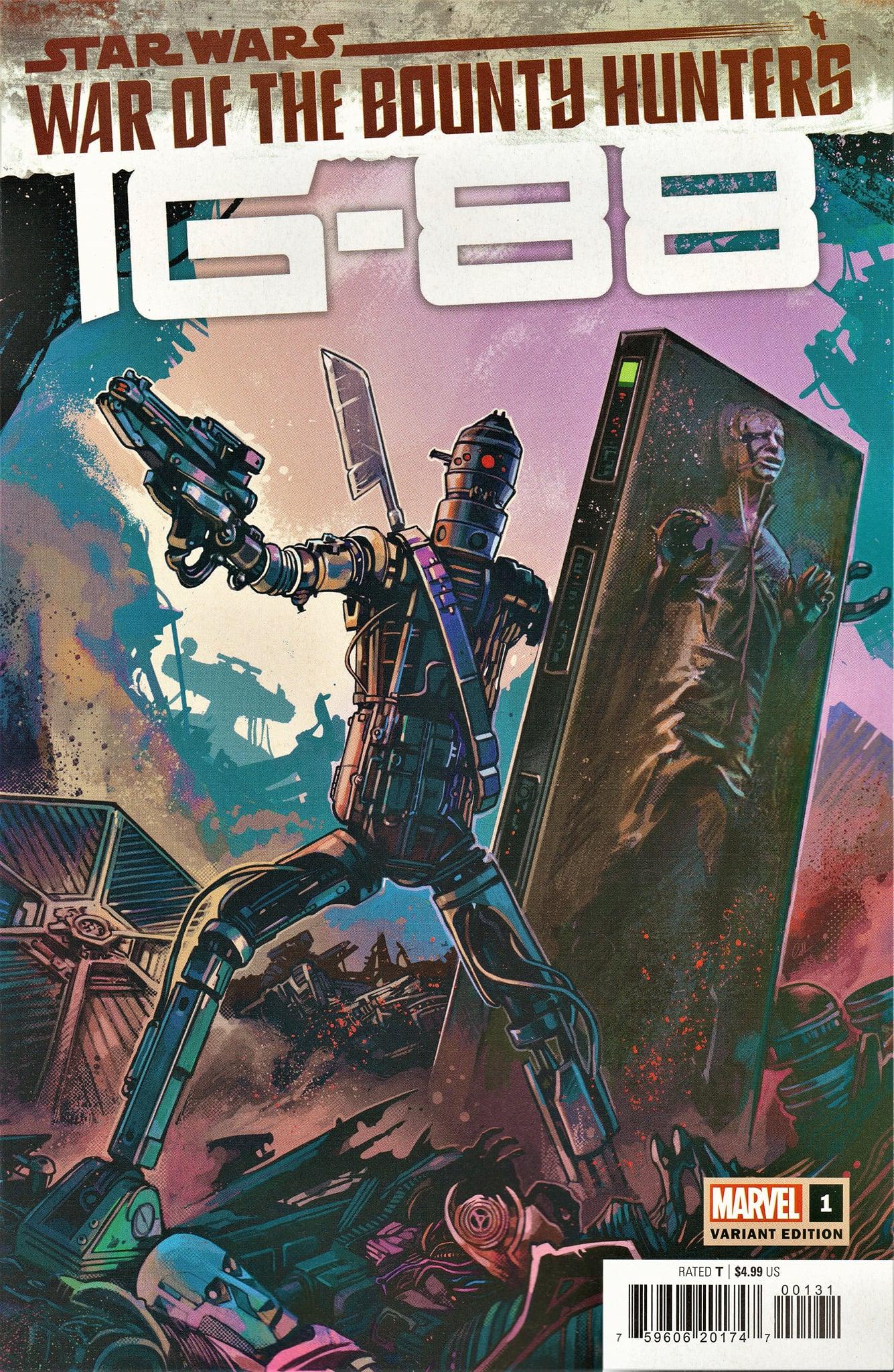 War of the Bounty Hunters: IG-88 #1 (Caspar Wijngaard Variant Cover) (13.10.2021)