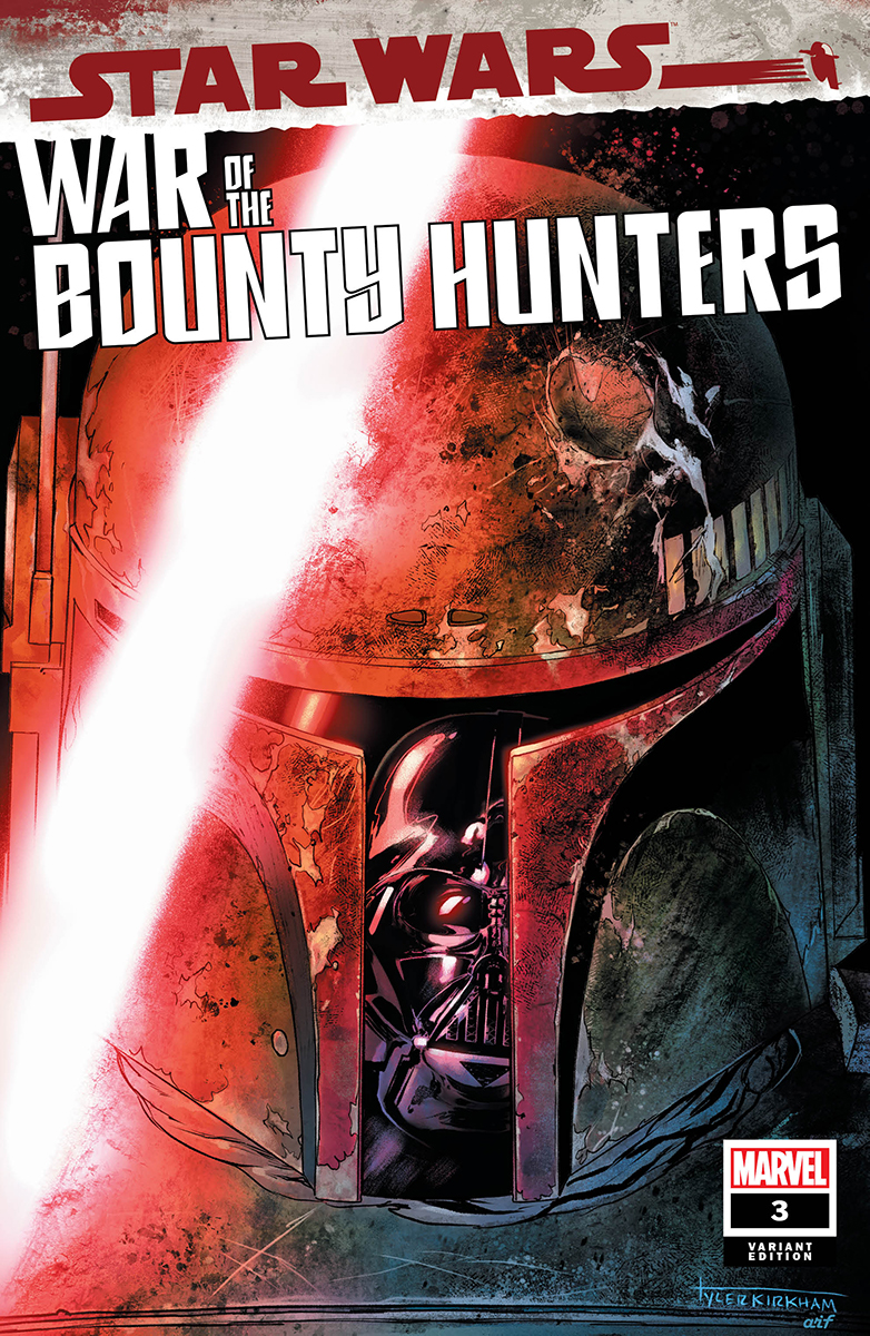 War of the Bounty Hunters #3 (Tyler Kirkham Unknown Comics Variant Cover) (18.08.2021)