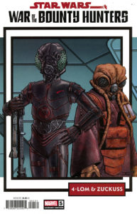 War of the Bounty Hunters #5 (John Cassaday Trading Card Variant Cover) (06.10.2021)