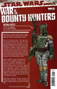 War of the Bounty Hunters #5 (Ron Frenz Bounty Hunter Handbook Variant Cover) (06.10.2021)