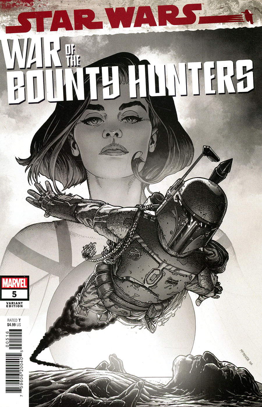War of the Bounty Hunters #5 (Steve McNiven Carbonite Variant Cover) (06.10.2021)