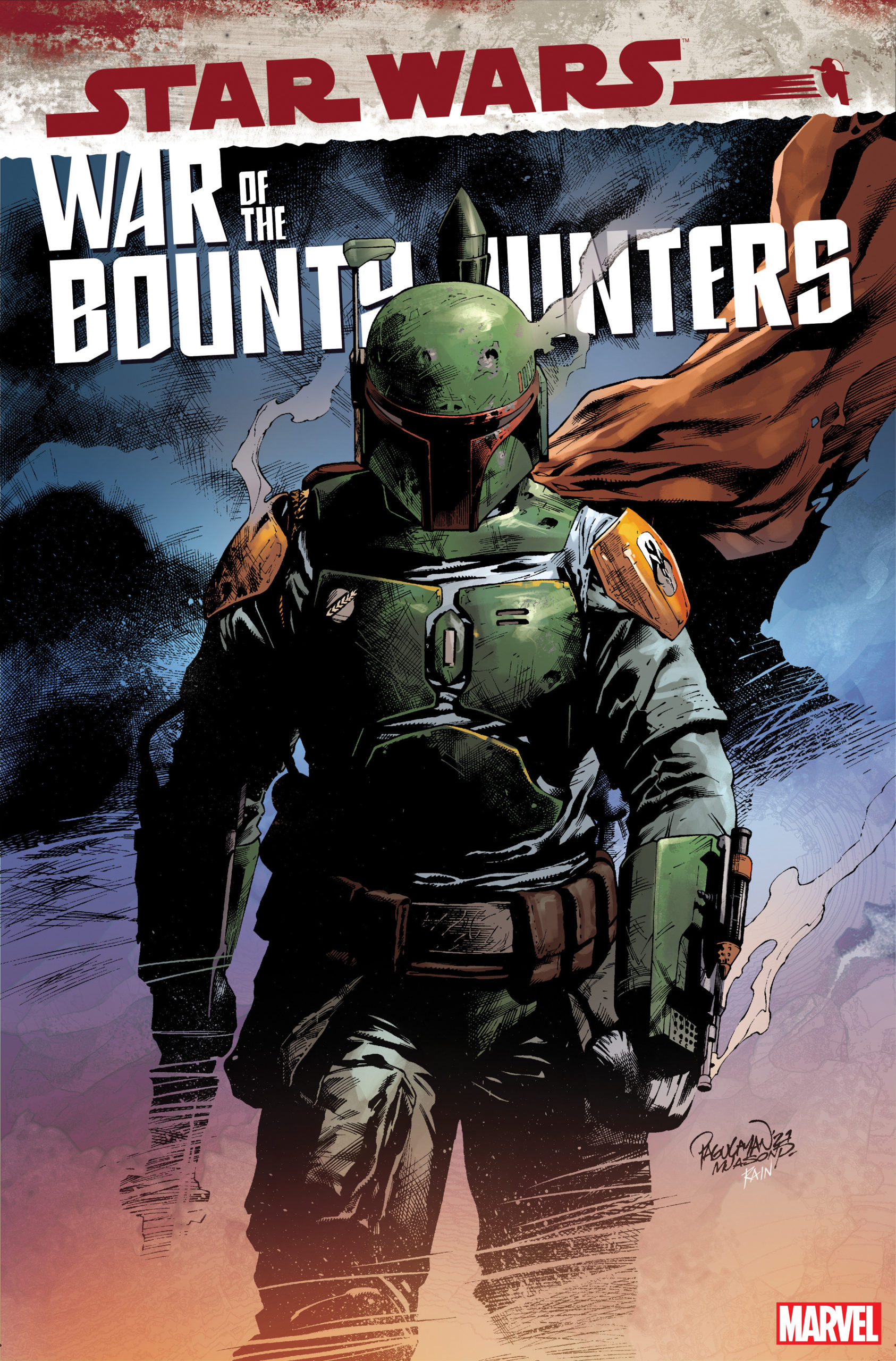 War of the Bounty Hunters #5 (Carlo Pagulayan Variant Cover) (06.10.2021)
