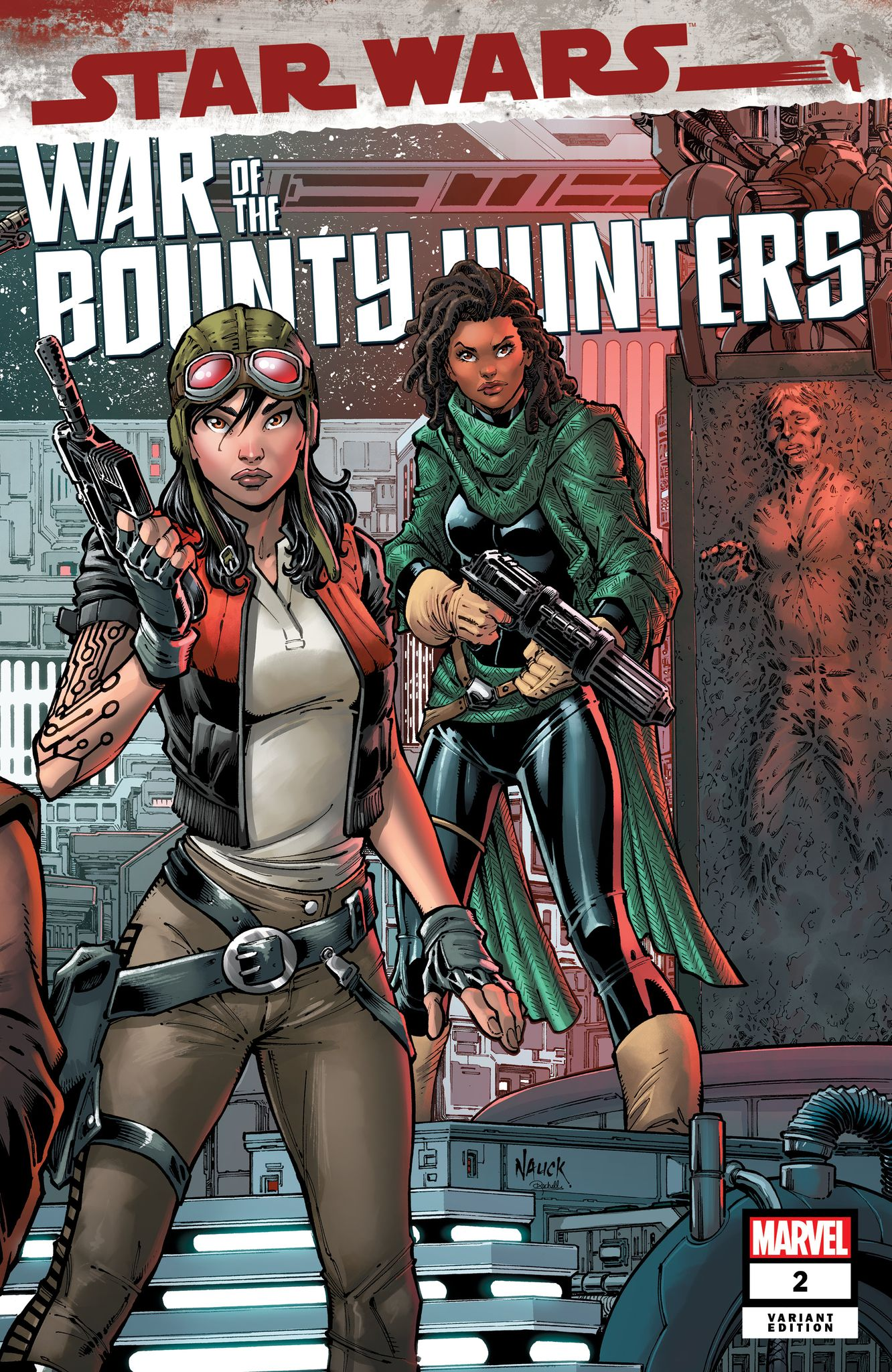 War of the Bounty Hunters #2 (Todd Nauck Variant Cover) (14.07.2021)