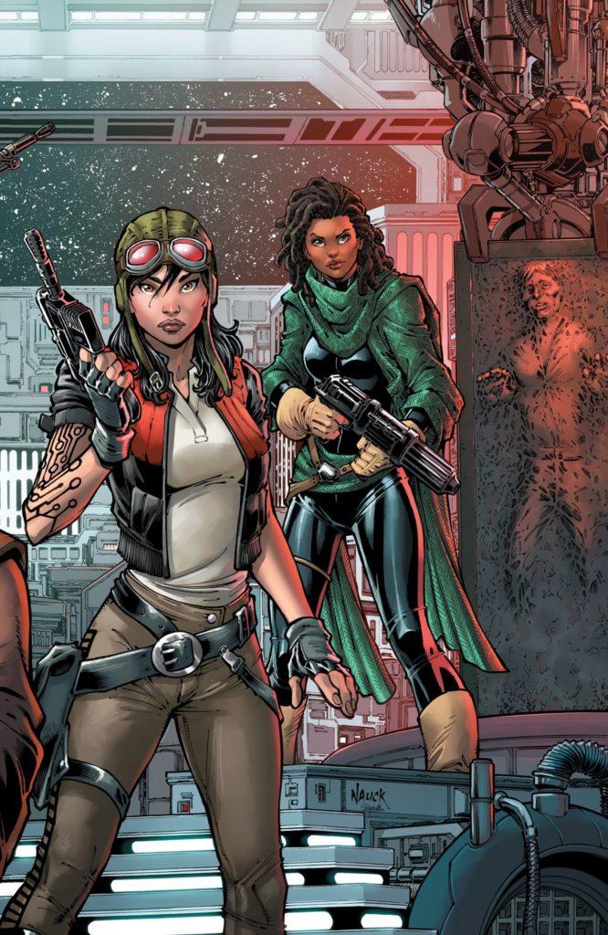 War of the Bounty Hunters #2 (Todd Nauck Virgin Variant Cover) (14.07.2021)
