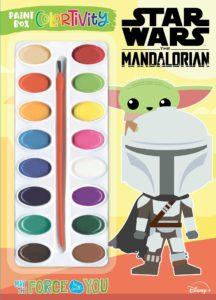 The Mandalorian: May the Force Be with You - Paint Box Colortivity (04.01.2022)