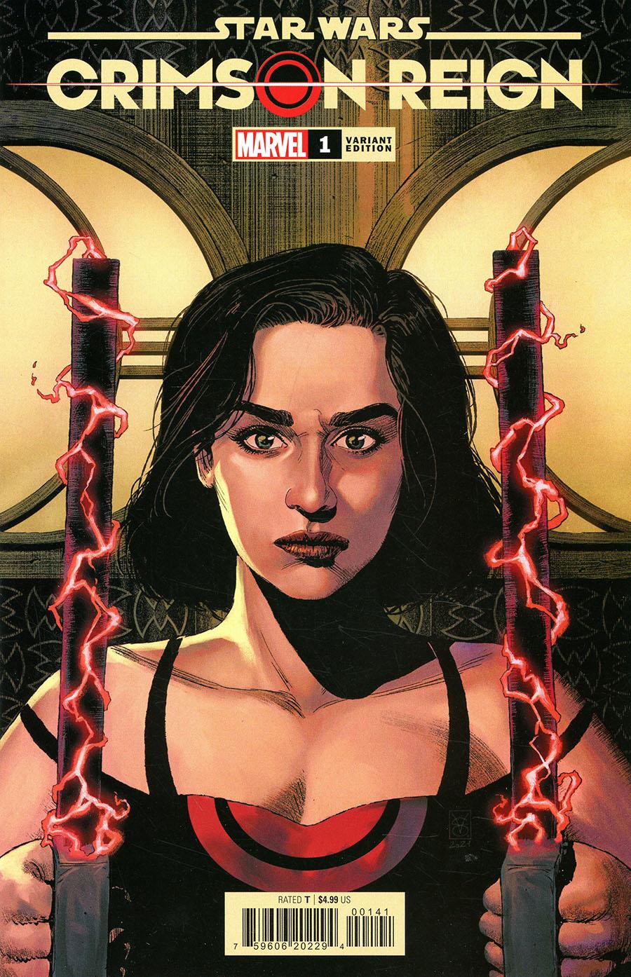 "Crimson Reign #1 (Valerio Giangiordano ""Warriors of Dawn"" Variant Cover) (01.12.2021)"