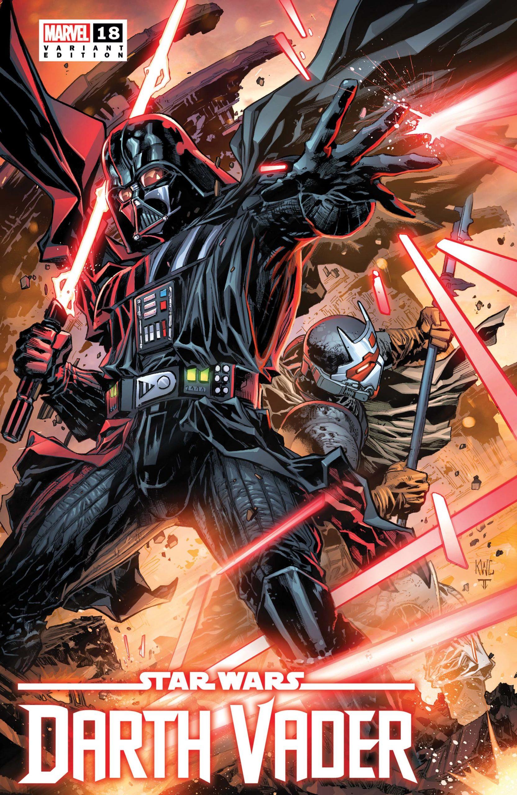 Darth Vader #18 (Ken Lashley Variant Cover) (17.11.2021)