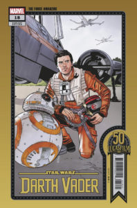 """Darth Vader #18 (Chris Sprouse """"The Force Awakens"""" Lucasfilm 50th Anniversary Variant Cover) (17.11.2021)"""