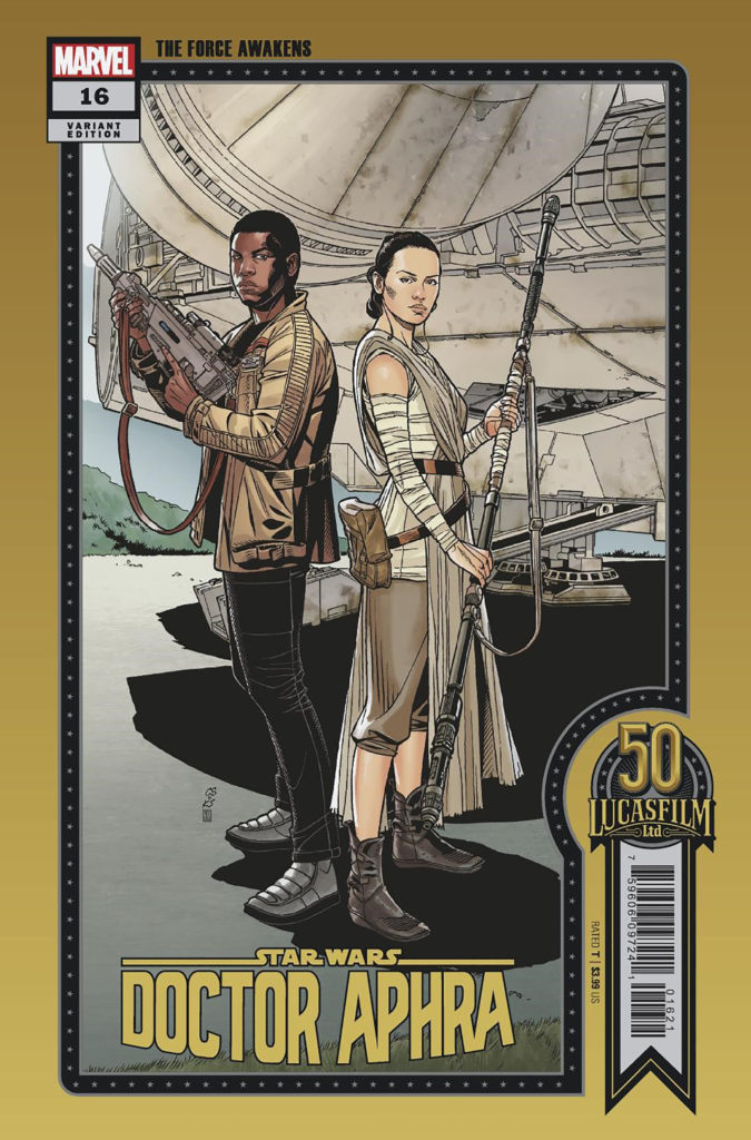 Doctor Aphra #16 (Chris Sprouse Lucasfilm 50th Anniversary Variant Cover) (10.11.2021)