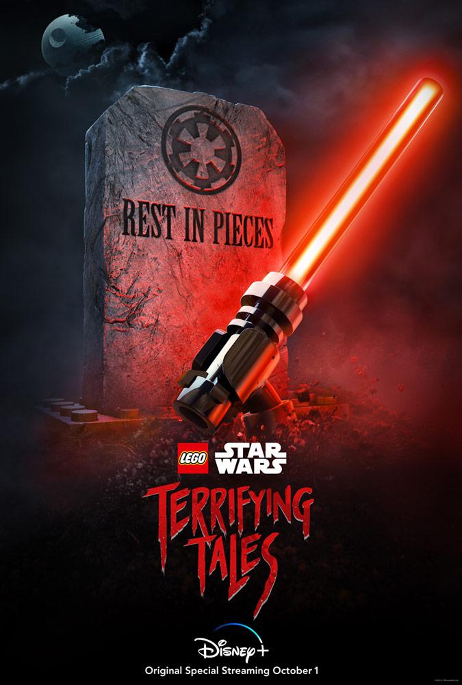 LEGO Star Wars Terrifying Tales Teaser-Poster
