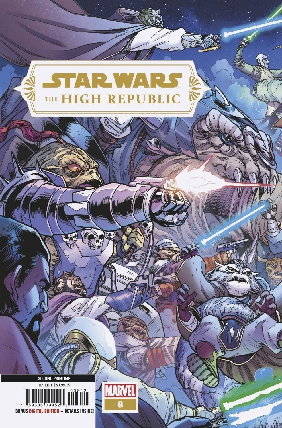 The High Republic #8 (2nd Printing) (29.09.2021)