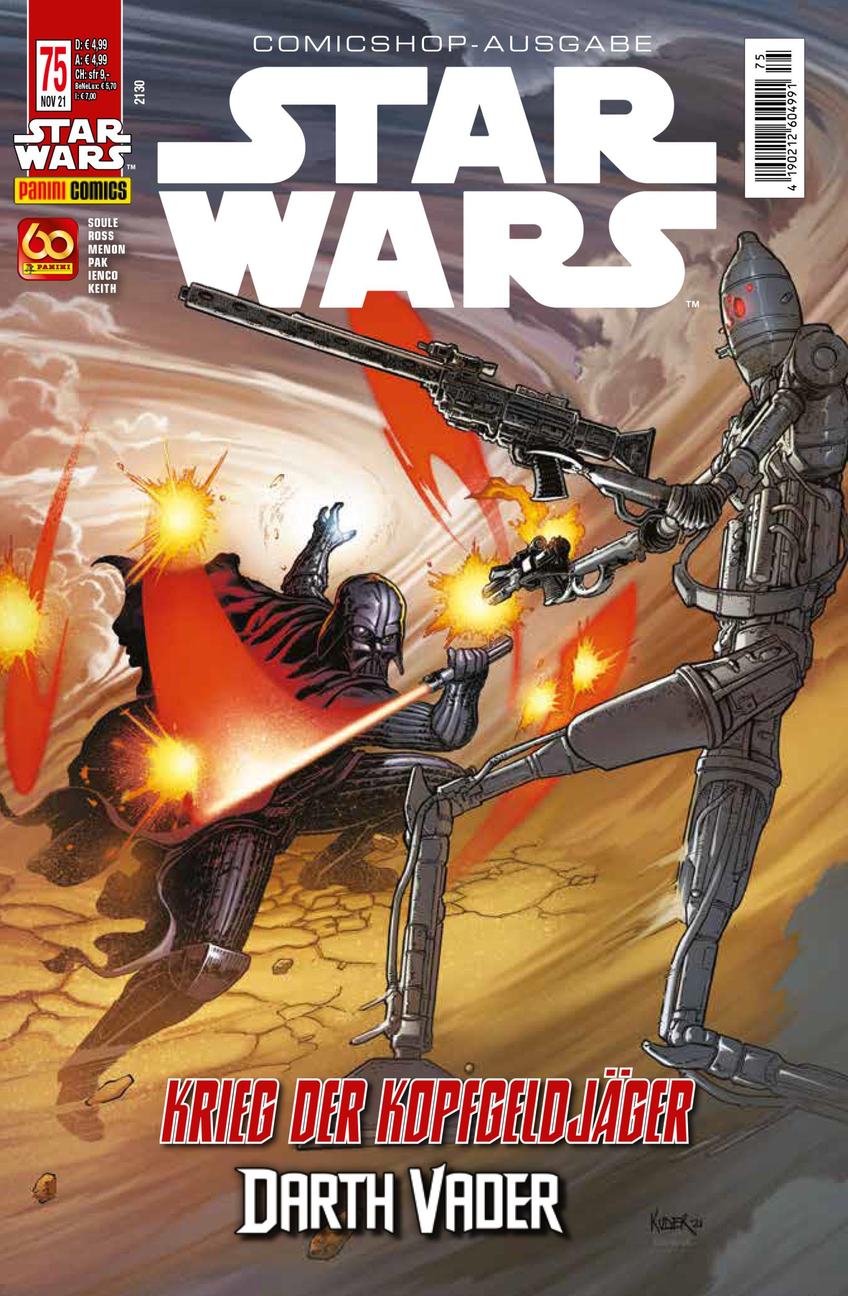 Star Wars #75 (Comicshop-Ausgabe) (20.10.2021)