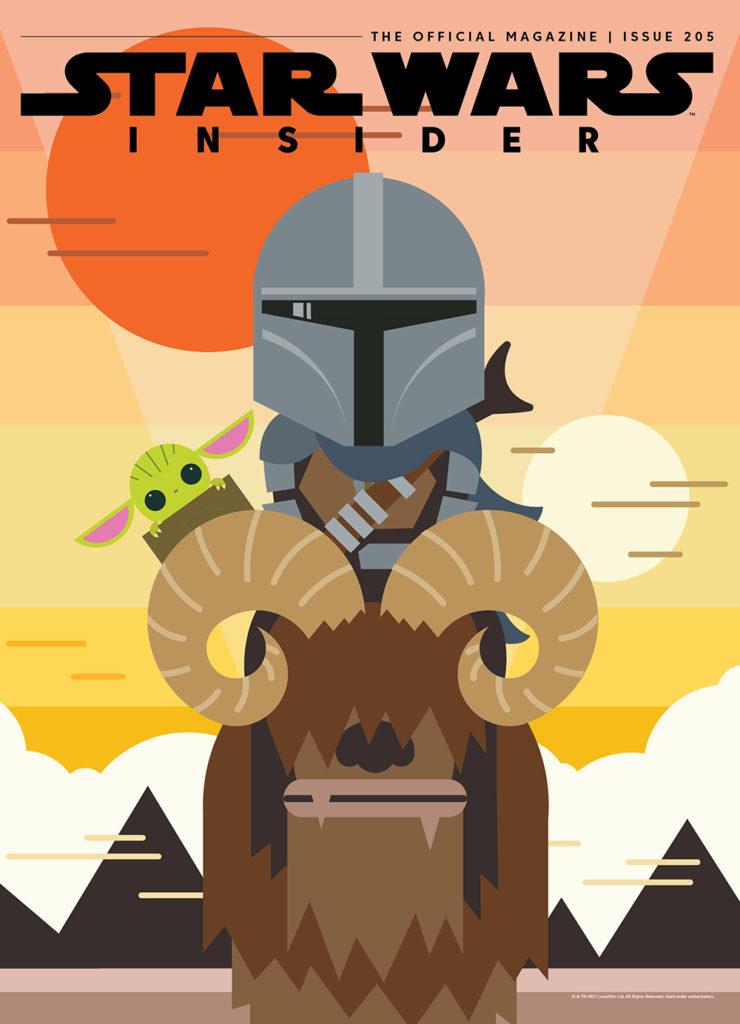 Star Wars Insider #205 (Mandalorian Cover) (21.09.2021)