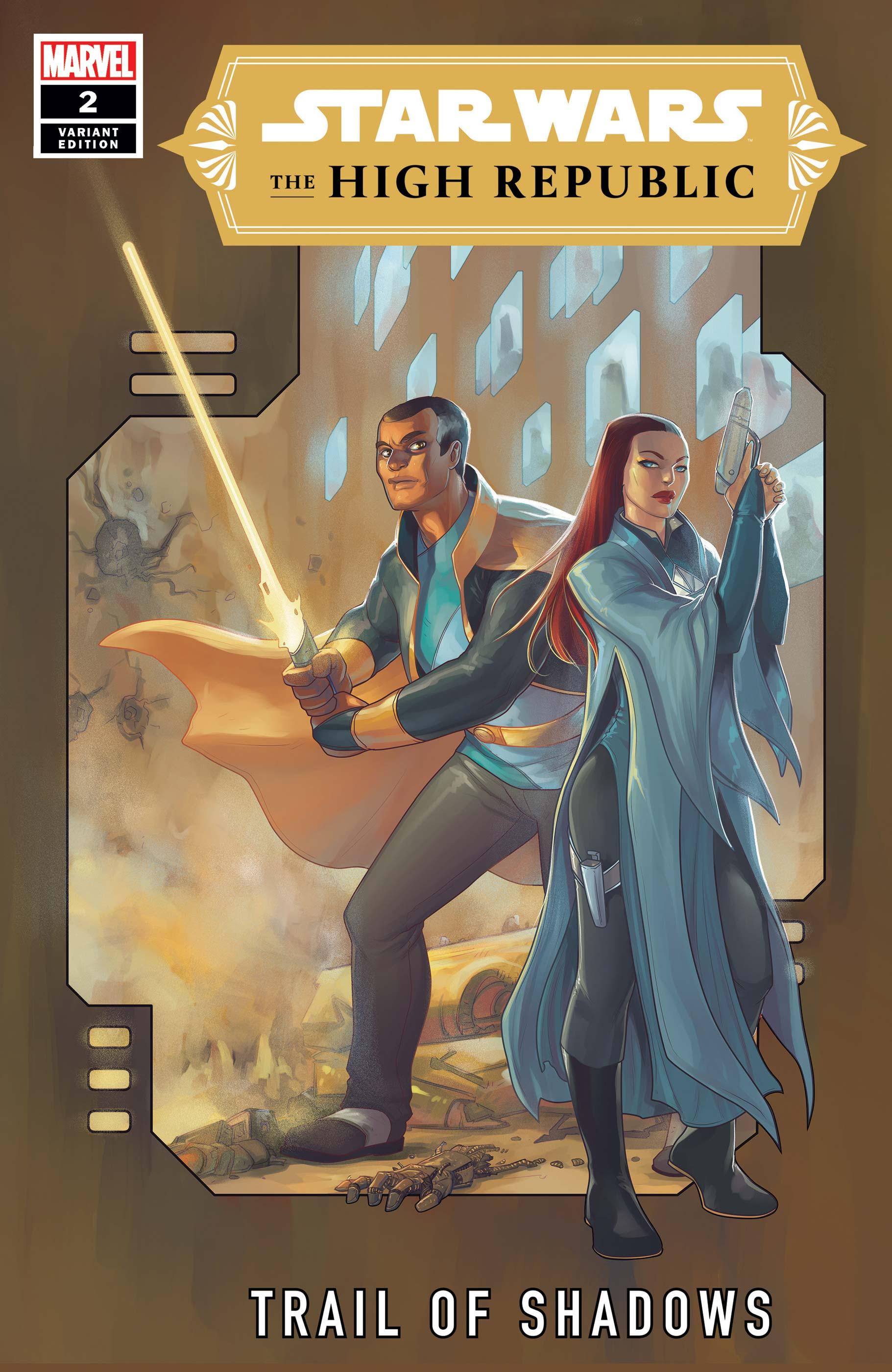 The High Republic: Trail of Shadows #2 (Meghan Hetrick Variant Cover) (10.11.2021)