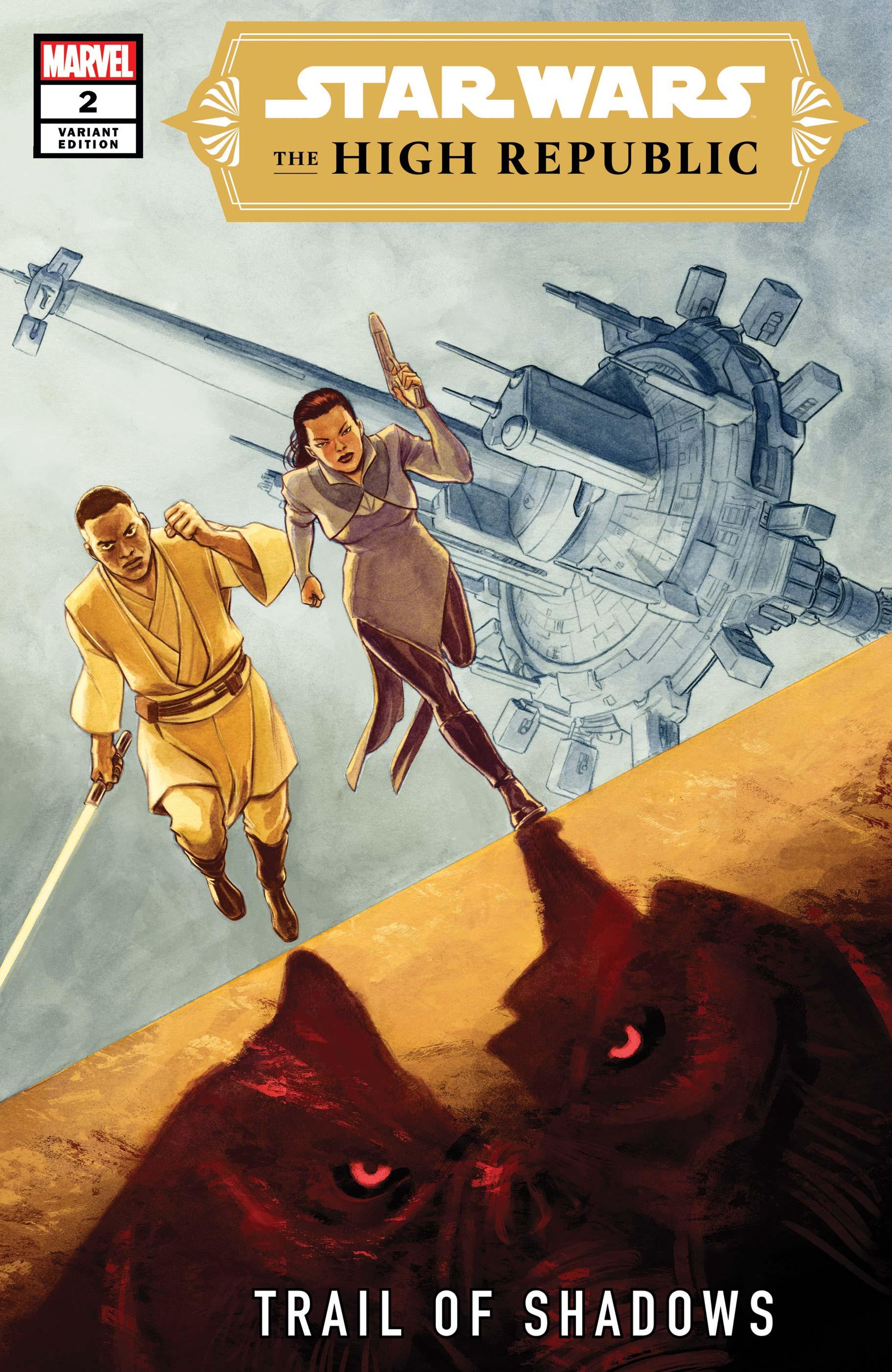 The High Republic: Trail of Shadows #2 (David López Variant Cover) (10.11.2021)