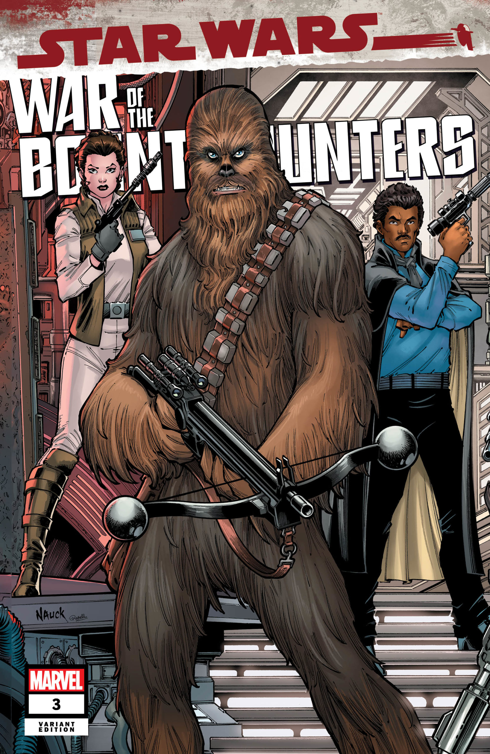 War of the Bounty Hunters #3 (Todd Nauck Variant Cover) (18.08.2021)