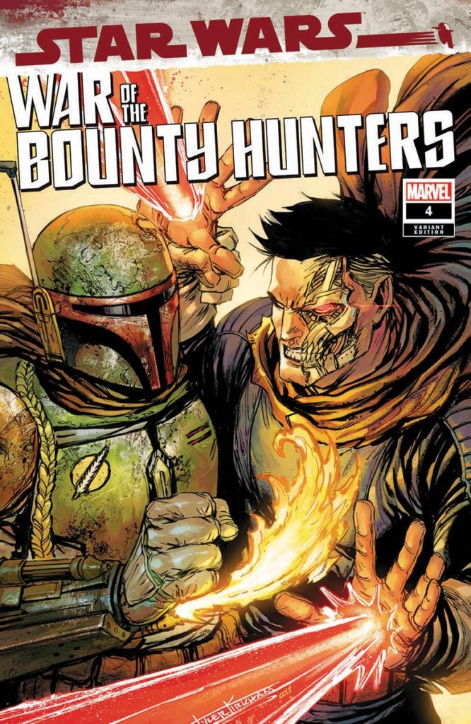 War of the Bounty Hunters #4 (Tyler Kirkham Unknown Comics Variant Cover) (08.09.2021)
