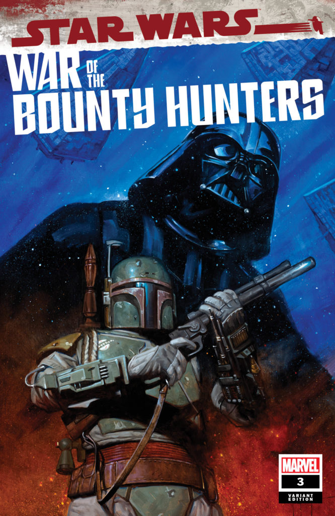 War of the Bounty Hunters #3 (Erik M. Gist Variant Cover) (18.08.2021)