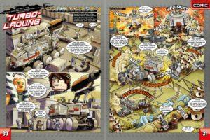 LEGO Star Wars Magazin #76 - Vorschau Seiten 30 und 31