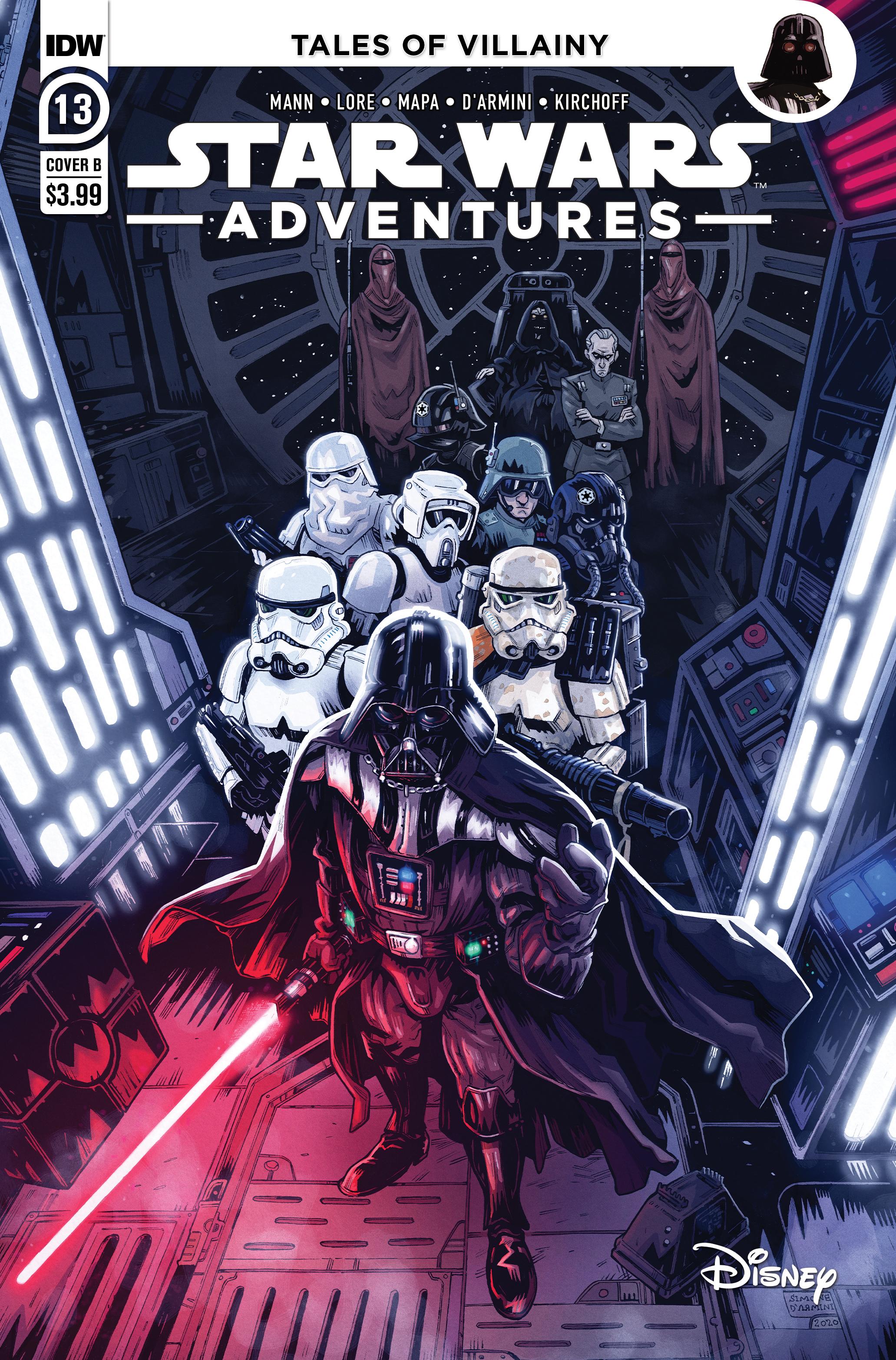 Star Wars Adventures #13 (Cover B by Simone D'Armini) (22.12.2021)