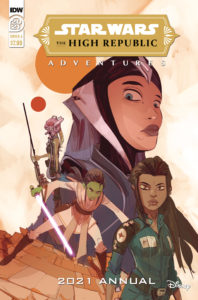 The High Republic Adventures Annual 2021 (Cover A by Stefano Simeone) (Dezember 2021)