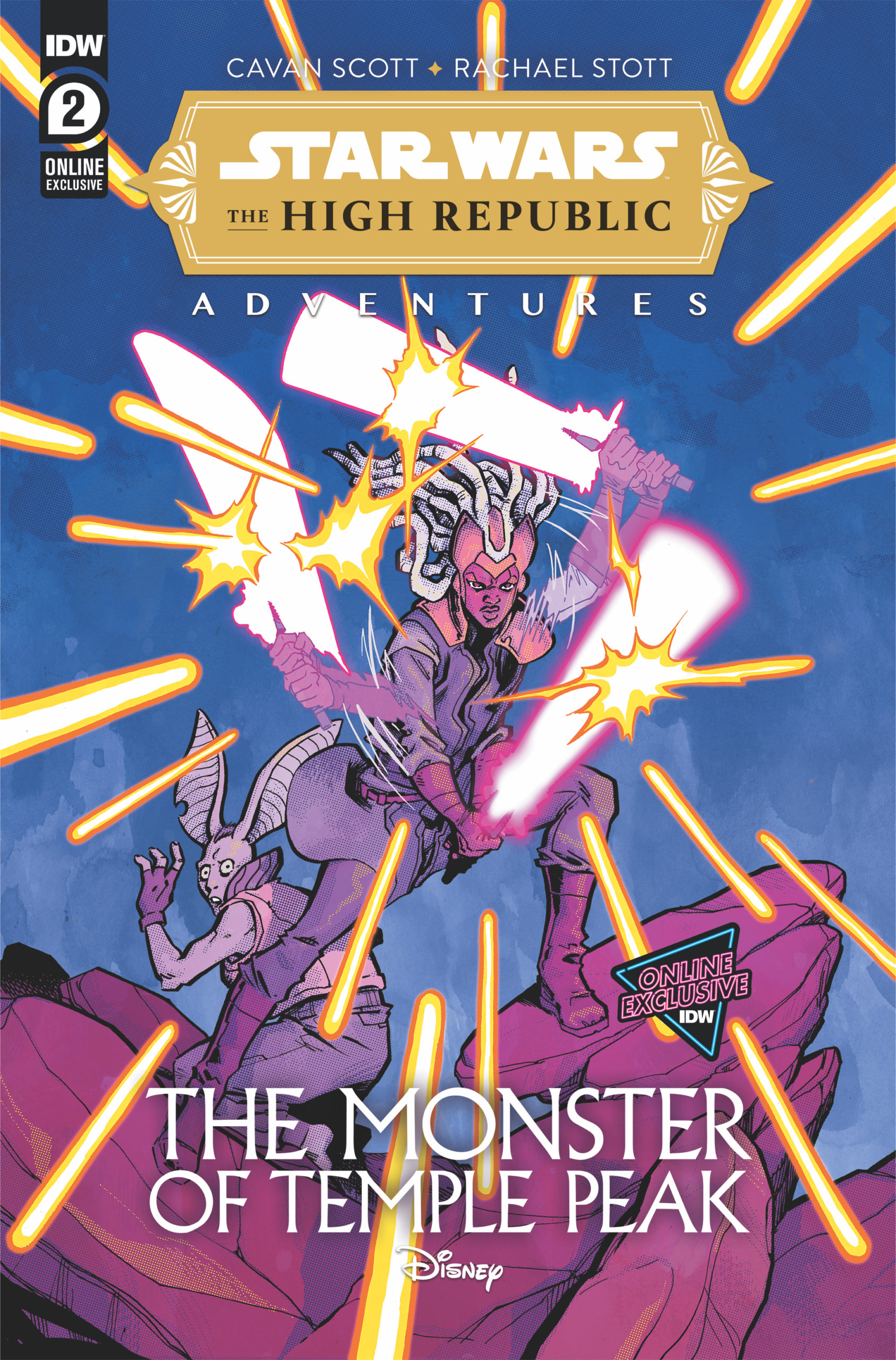 The High Republic Adventures: The Monster of Temple Peak #2 (Ilias Kyriazis Variant Cover) (15.09.2022)