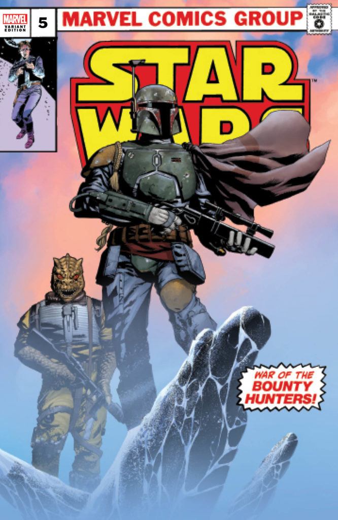 War of the Bounty Hunters #5 (Mike McKone Ultimate Comics Variant Cover) (06.10.2021)