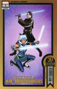 War of the Bounty Hunters #5 (Chris Sprouse Lucasfilm 50th Anniversary Variant Cover) (06.10.2021)