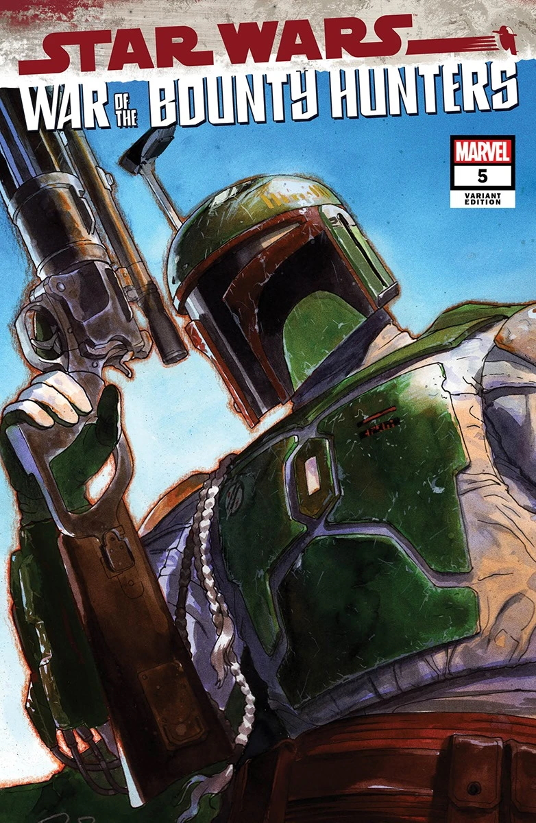 War of the Bounty Hunters #5 (Gerald Parel Unknown Comics Variant Cover) (06.10.2021)