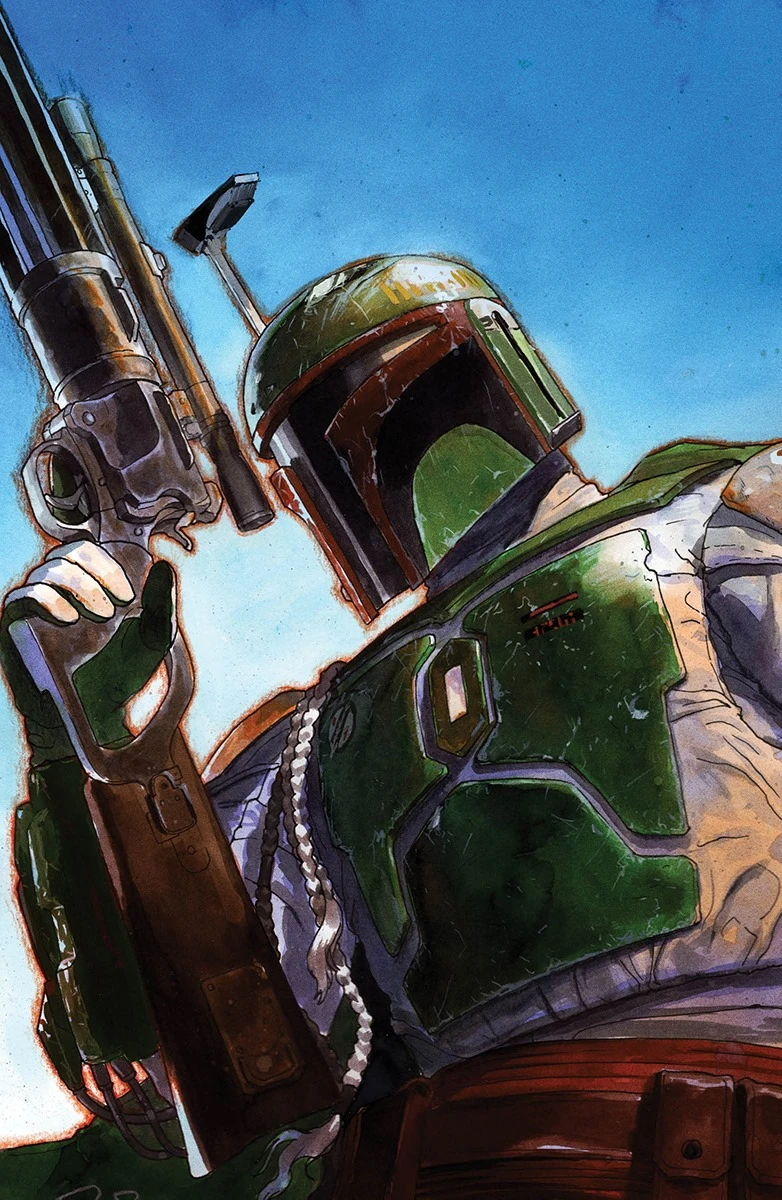 War of the Bounty Hunters #5 (Gerald Parel Unknown Comics Virgin Variant Cover) (06.10.2021)