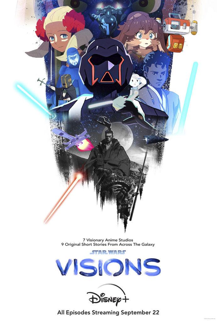 <em>Star Wars: Visions</em>: Poster (c) StarWars.com