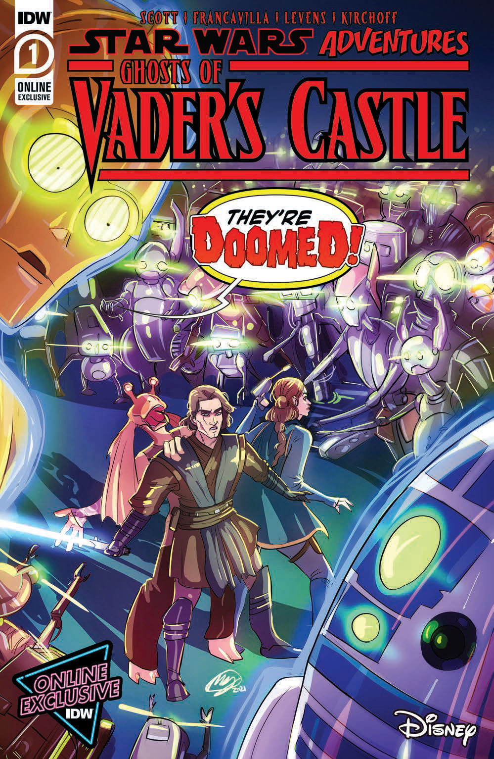 Ghosts of Vader's Castle #1 (Megan Huang NYCC Variant Cover) (07.10.2021)