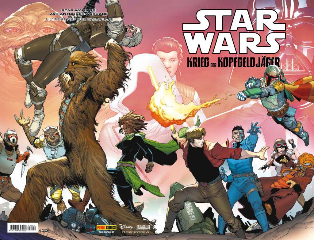 Star Wars #75 (Giuseppe Camuncoli Comic Con Stuttgart Variantcover)