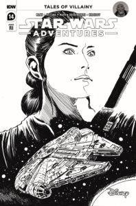 Star Wars Adventures #14 (Francesco Francavilla Black & White Variant Cover) (19.01.2022)