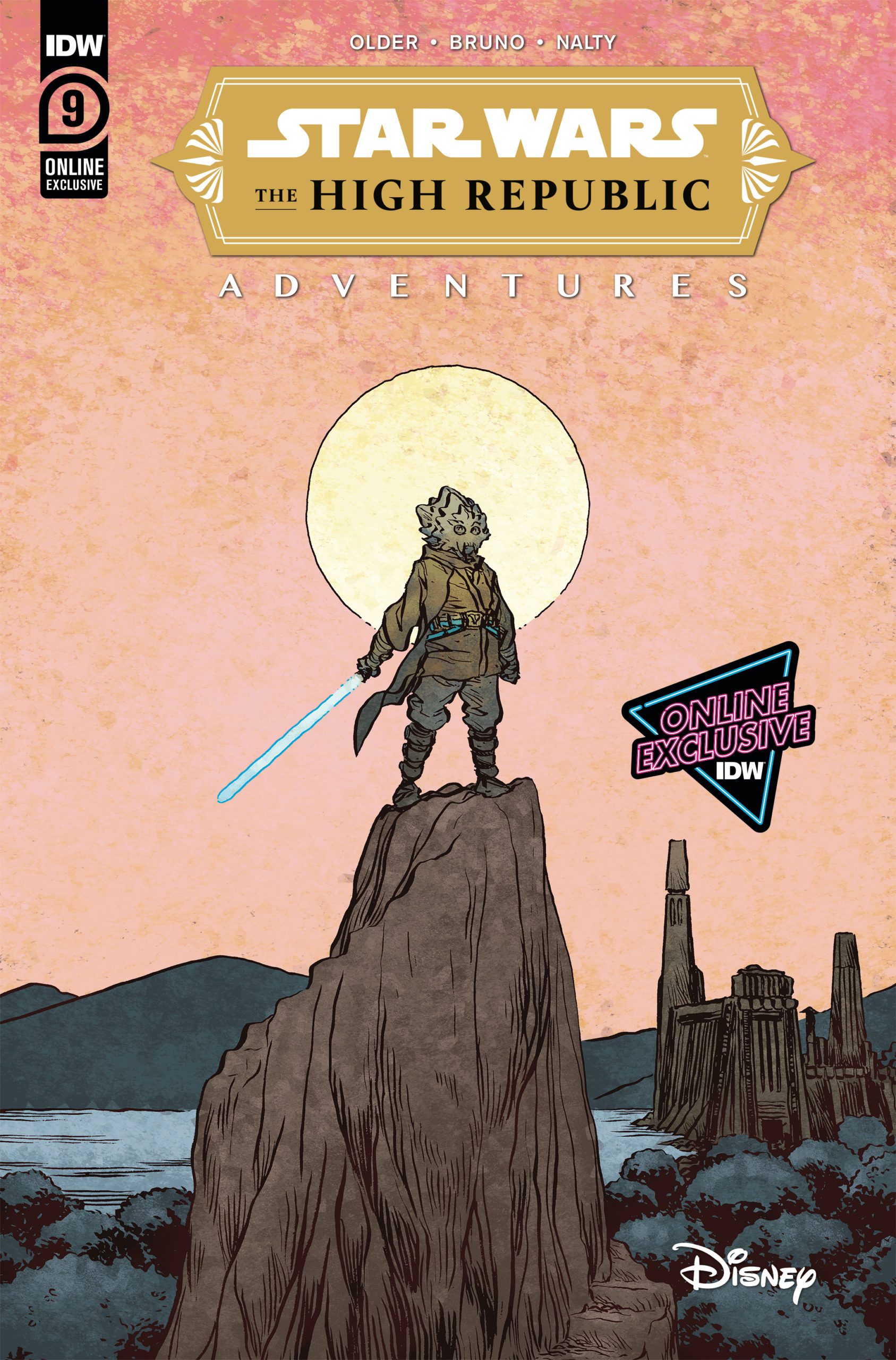 The High Republic Adventures #9 (Jesse Lonergan NYCC Variant Cover) (07.10.2021)