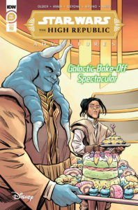 The High Republic Adventures: Galactic Bake-Off Spectacular (Jo Cheol-Hong Variant Cover) (05.01.2022)