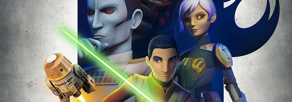 Star Wars Rebels Staffel 3 – Poster